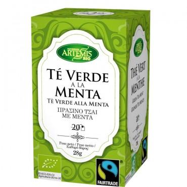 Té Verde a la Menta - Artemis - tienda vegana online