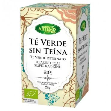 Té Verde sin Teína - Artemis - tienda vegana online