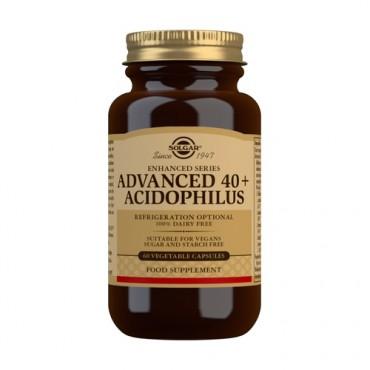 Advanced 40+ Acidophilus - Solgar - tienda vegana online