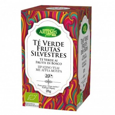 Té Verde Frutas Silvestres - Artemis - tienda vegana online