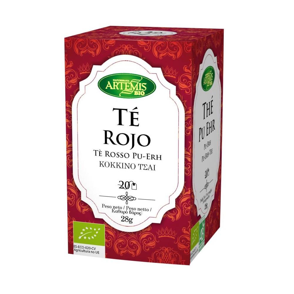Té Rojo - Artemis - tienda vegana online