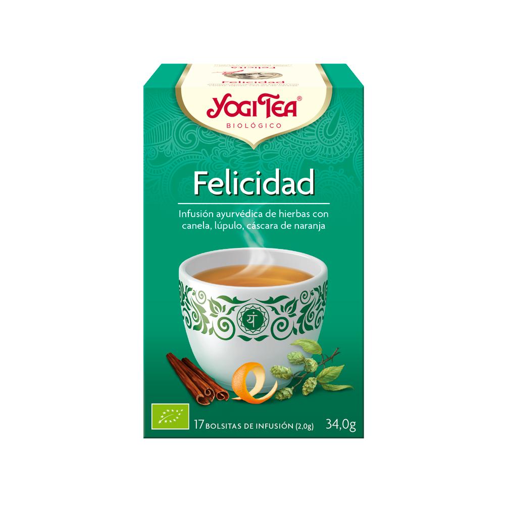 Felicidad - Yogi Tea - tienda vegana online