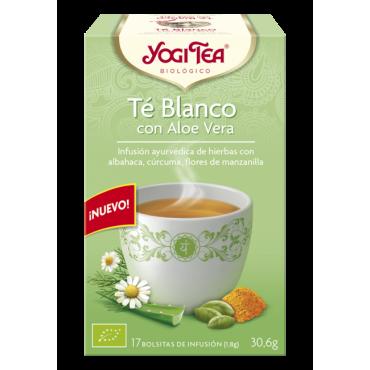 Té Blanco con Aloe Vera - Yogi Tea - tienda vegana online