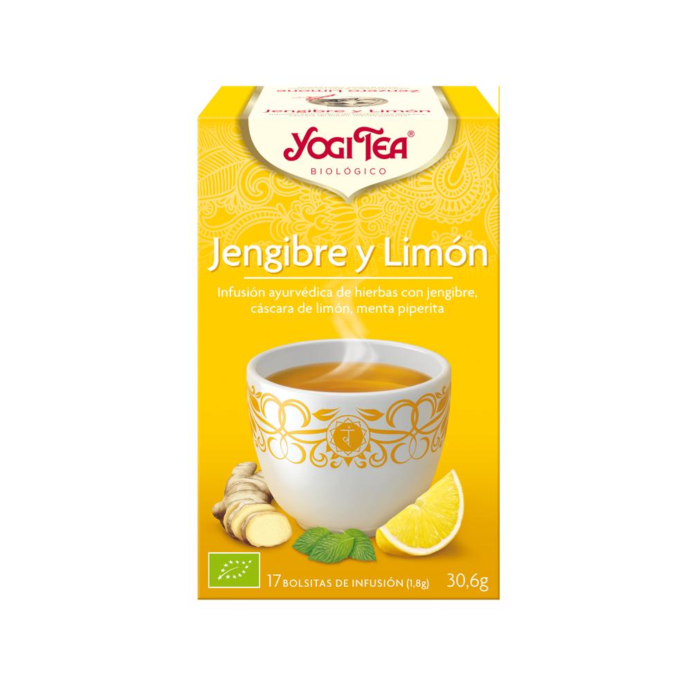 Jengibre y Limón - Yogi Tea - tienda vegana online