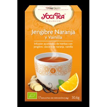 Jengibre Naranja y Vainilla - Yogi Tea - tienda vegana online