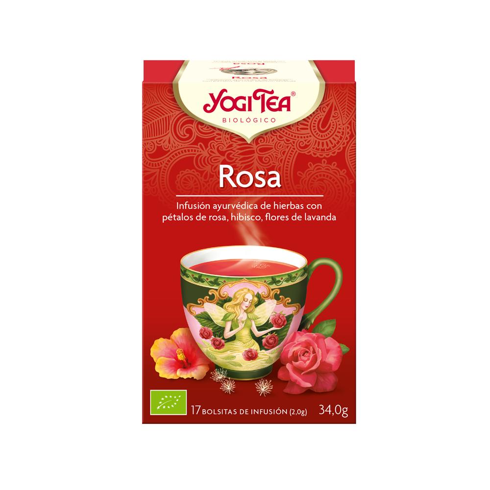 Rosa - Yogi Tea - tienda vegana online