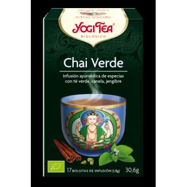 Chai Verde - Yogi Tea - tienda vegana online