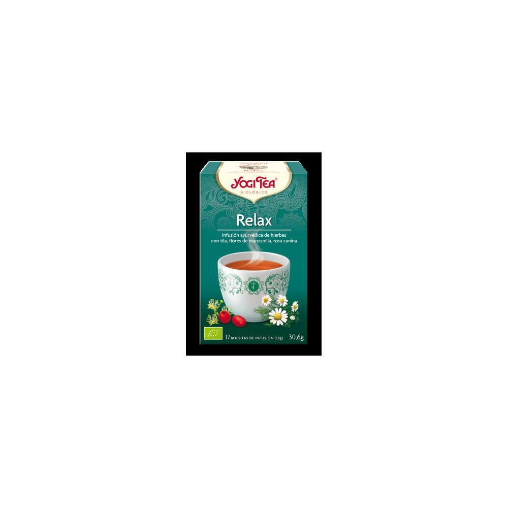 Relax - Yogi Tea - tienda vegana online