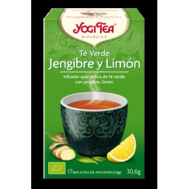 Té Verde Jengibre y Limón - Yogi Tea - tienda vegana online