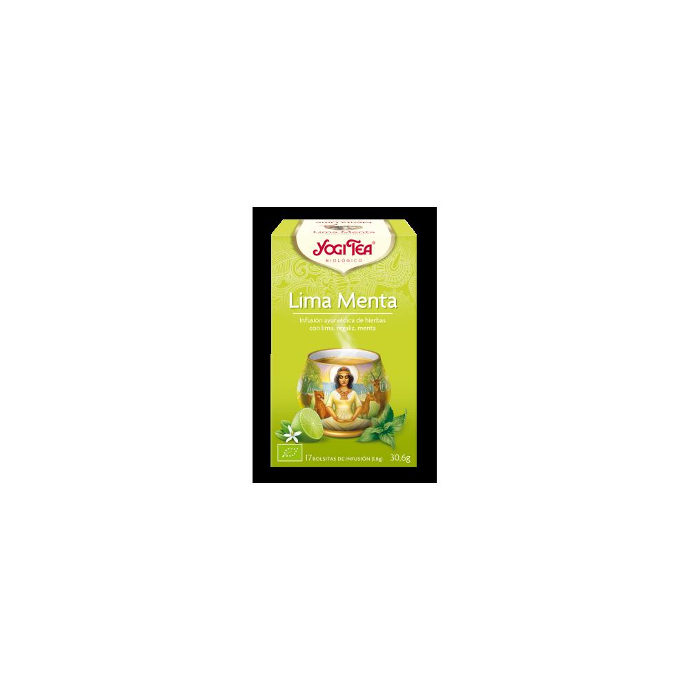 Lima Menta - Yogi Tea - tienda vegana online