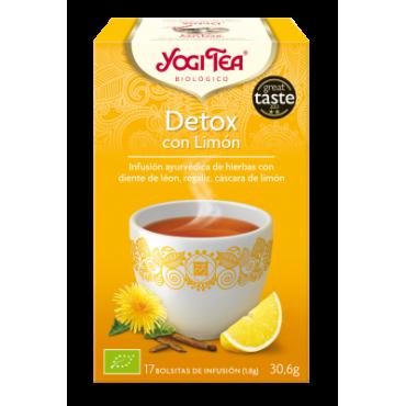 Detox con Limón - Yogi Tea -tienda vegana online