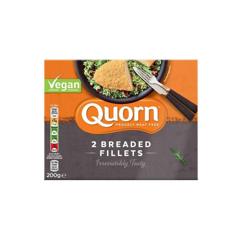 Filetes Empanados - Quorn - tienda vegana online