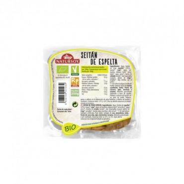 Seitán de Espelta 250 g. - Natursoy - tienda vegana online