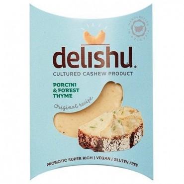 Queso de Anacardos con Setas y Tomillo - Delishu - tienda vegana online