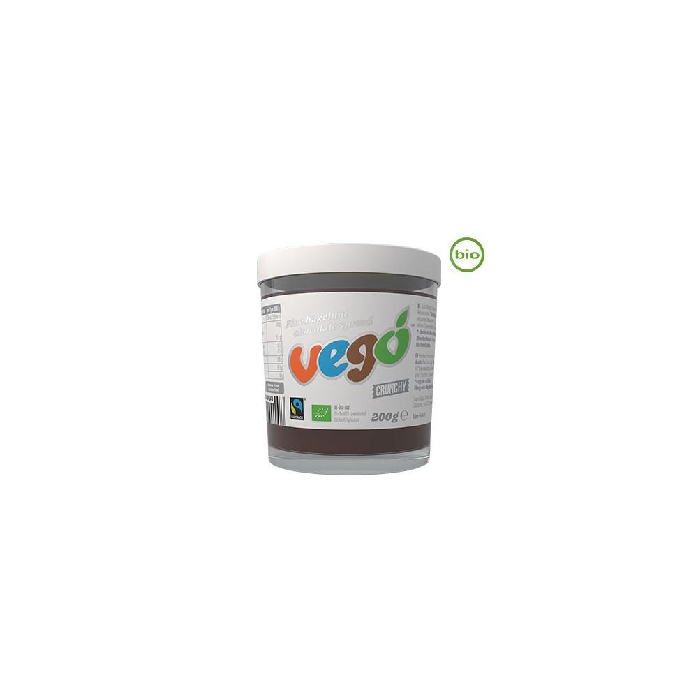 Crema de Chocolate y Avellanas - Vegó - tienda vegana online