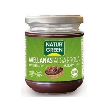 Crema de Avellanas y Algarroba - NaturGreen