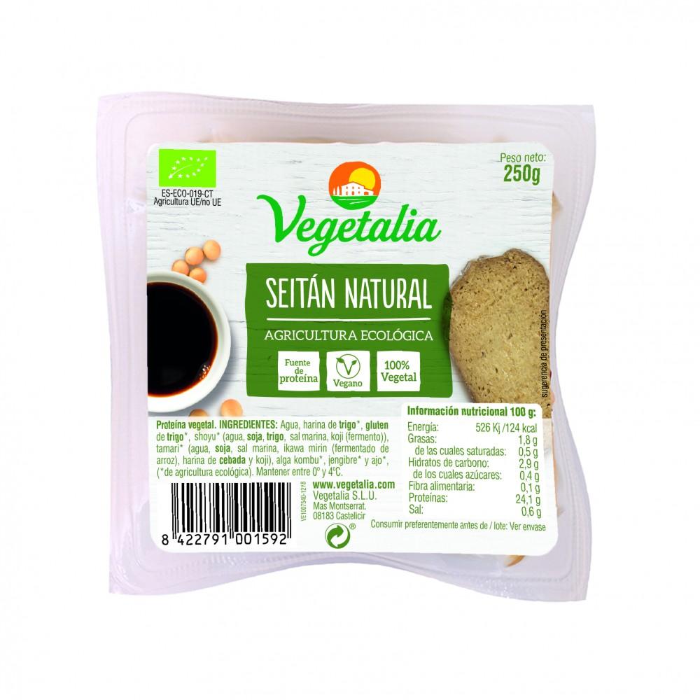 Seitán 250 g. - Vegetalia - tienda vegana online