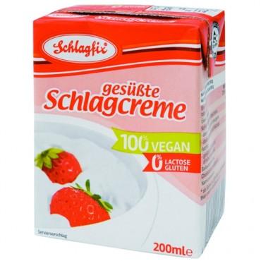 Nata Vegetal para postres - Schlagfix 200 ml. - tienda vegana online
