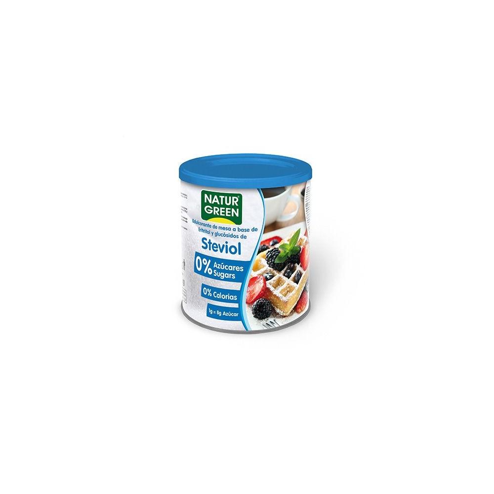 Steviol 0% azúcares 500 g. - Natur Green - tienda vegana online