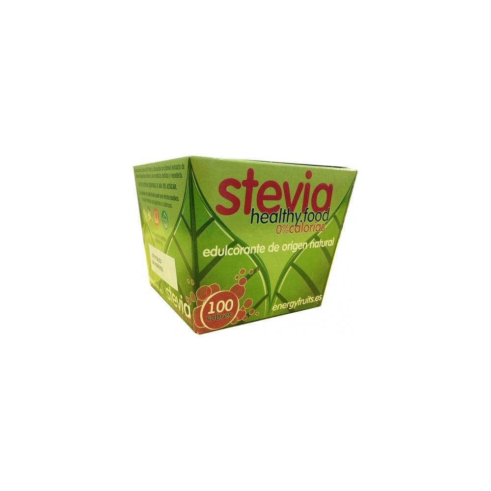 Stevia 100 sobres - Energy Fruits - tienda vegana online