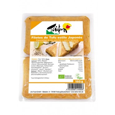 Filetes de Tofu Estilo Japonés - Taifun-tienda vegana online