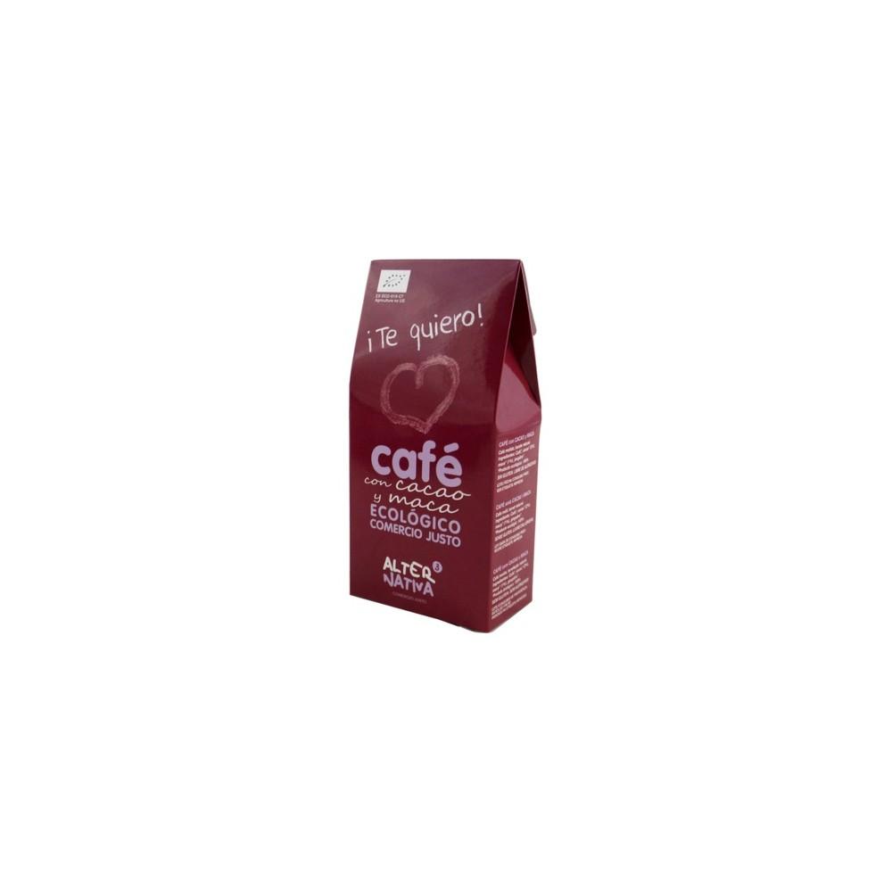 Café molido con Cacao y Maca 125 g. - Alternativa 3 - tienda vegana online
