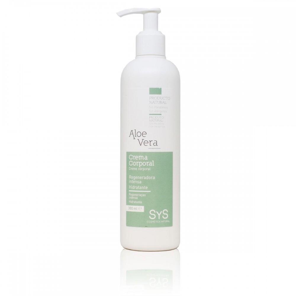 Crema Corporal de Aloe Vera - Laboratorios SyS -tienda vegana online