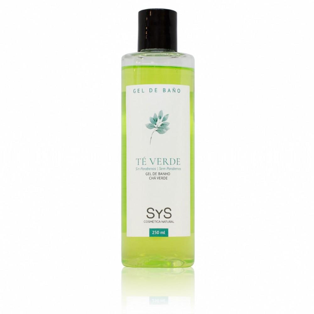 Gel de Baño de Té Verde - Laboratorios SyS - tienda vegana online