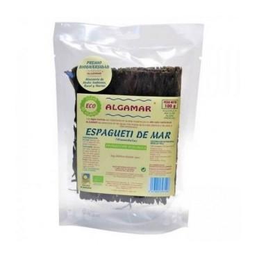 Alga Espaguetti de mar 100 g. - Algamar - tienda vegana online