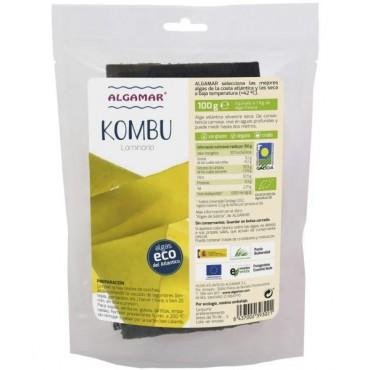 Alga Kombu hojas 100 g. - Algamar - tienda vegana online