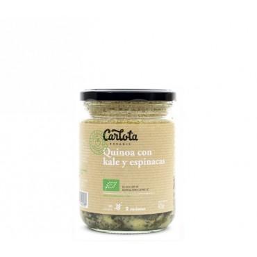 Quinoa con Kale y Espinacas 425 g. - Carlota - tienda vegana online