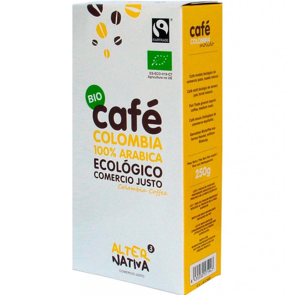 Café Colombia 100% Arábica - Alternativa 3 - tienda vegana online