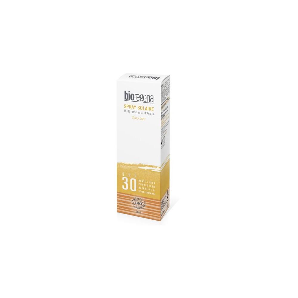 Spray Solar SPF 30 - Bioregena - tienda vegana online