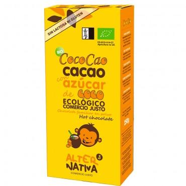Cococao Cacao con azúcar de coco - Aternativa 3 - tienda vegana online