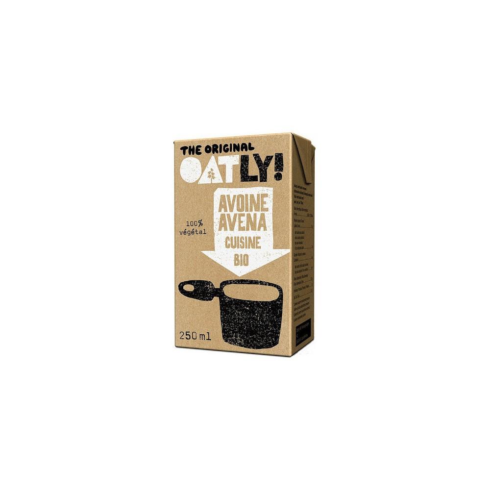 Crema cocinar Avena 200 ml. - Oatly - tienda vegana online