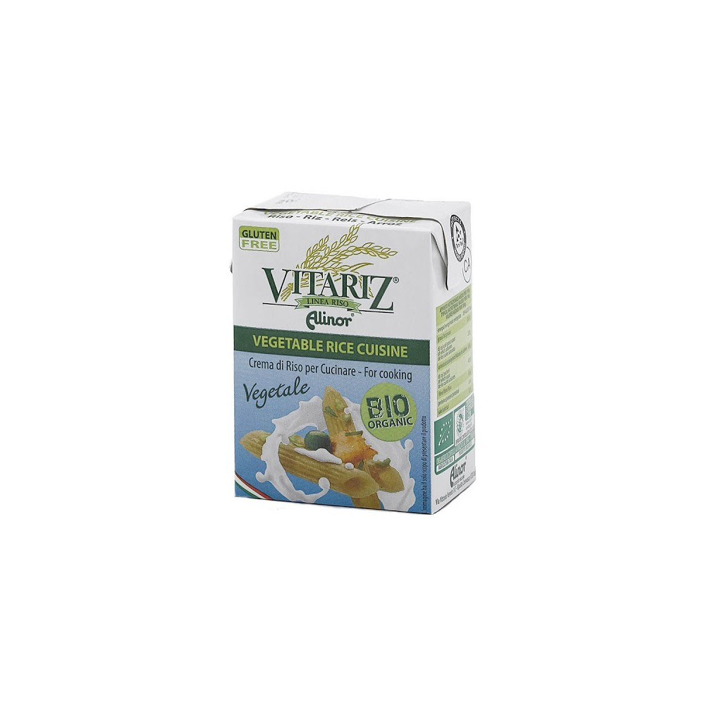 Crema de Arroz para cocinar  200 ml. - Vitariz - tienda vegana online
