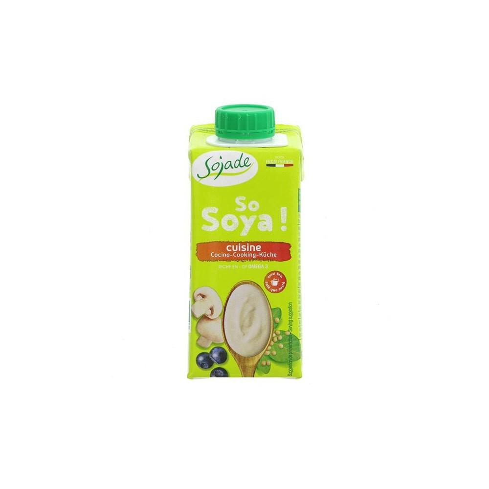 Nata de soja cocinar 200 ml. - Sojade - tienda vegana online