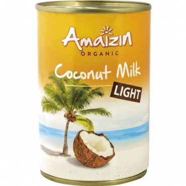 Leche de Coco Light 400 ml. - Amaizin