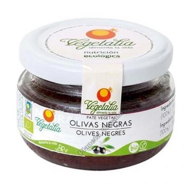 Paté Olivas Negras Vegetalia - tienda vegana online