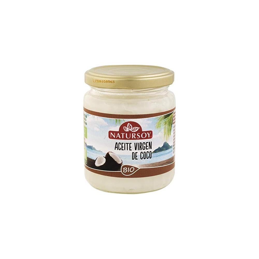 Aceite de coco 200 g. - Natursoy - tienda vegana online