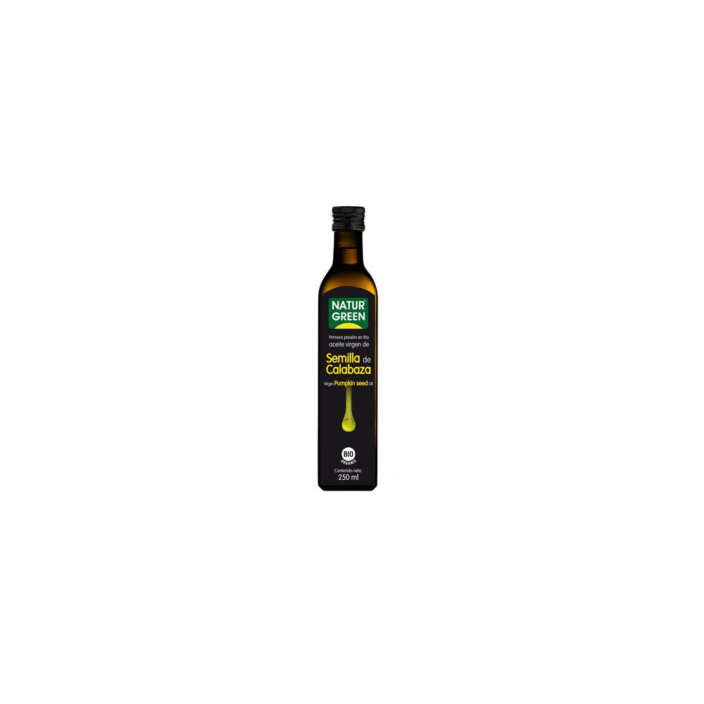 Aceite de Semilla de Calabaza 250 ml. Naturgreen - tienda vegana onlien