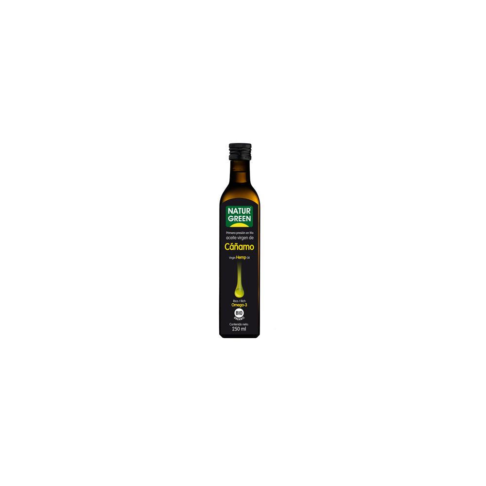 Aceite de Cáñamo 250 ml. Naturgreen - tienda vegana online
