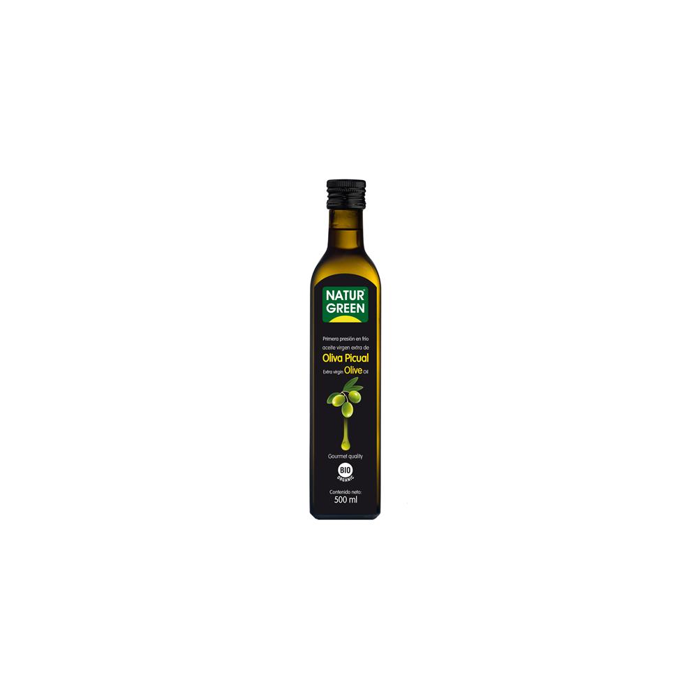 Aceite Oliva Virgen Extra 500 ml. Naturgreen - Tienda vegana online