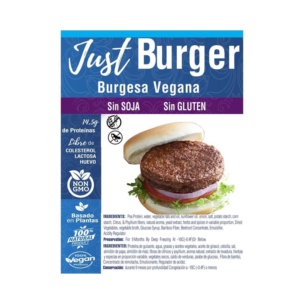 Just Burger  - Just Vegan - tienda vegana online