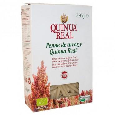 Penne Pasta  de arroz y Quinoa Real 250 g. - Quinua Real - tienda vegana online