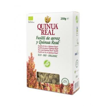 Fusilli de arroz y Quinoa Real 250 g. - Quinua Real - tienda vegana online