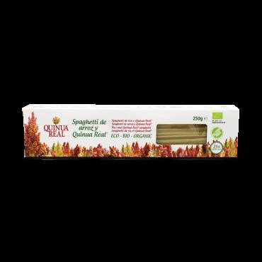 Spaguetti de arroz y Quinoa Real 250 g. - Quinua Real - tienda vegana online