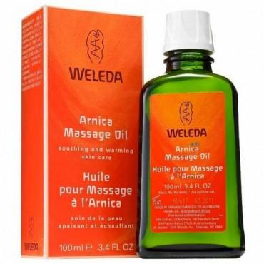 Aceite de masaje con Arnica 100 ml. - Weleda - tienda vegana online
