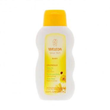 Aceite bebé caléndula 200 ml. - Weleda - tienda vegana online