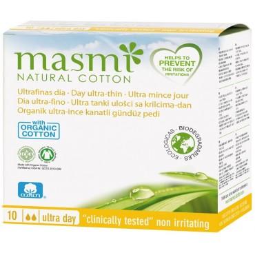 Compresas Ultra Día - Masmi Natural Cotton- tienda vegana online